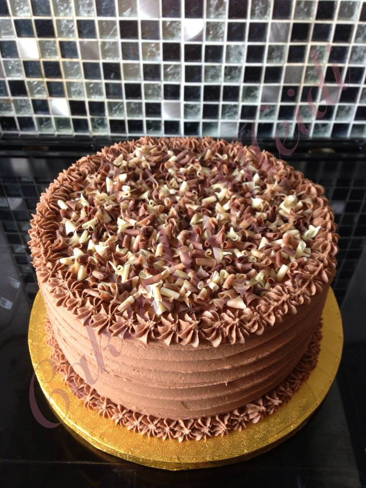 8 Chocolate Celebration Cake Cakes By Heidi