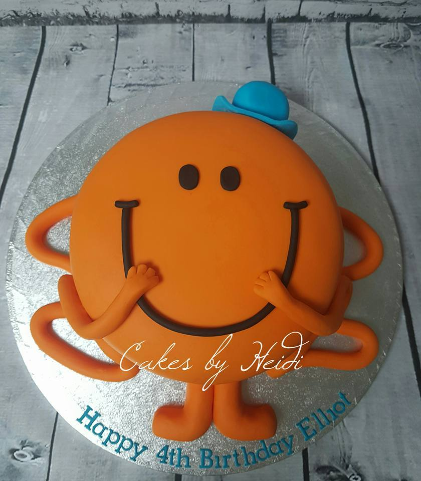 Birthday Cakes Heidis Cakery - Mr tickle birthday cake